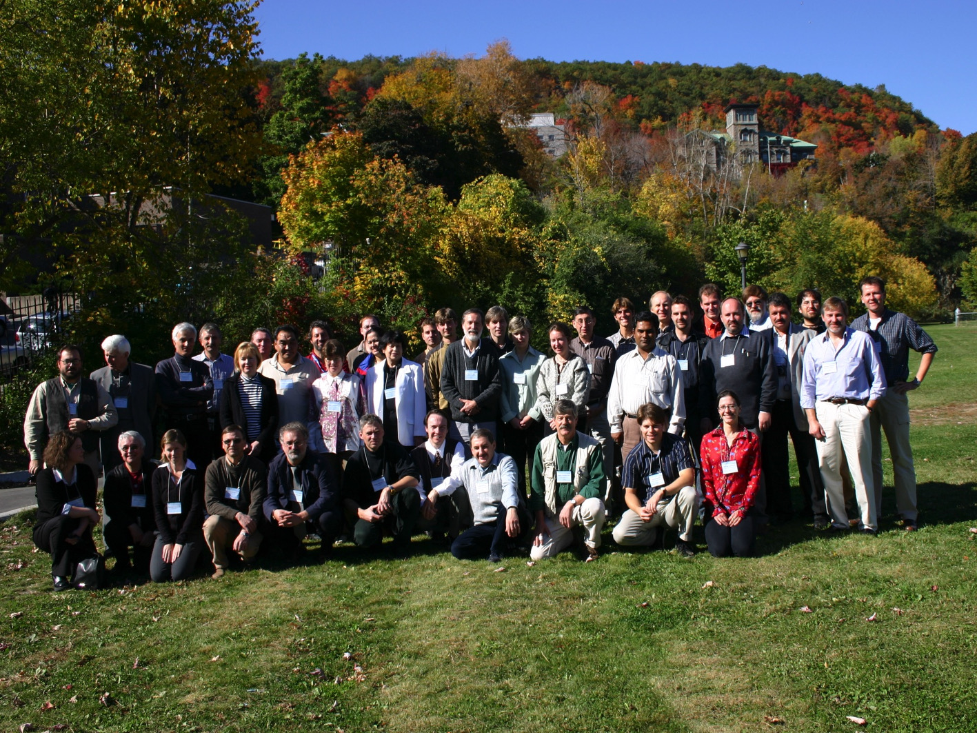 5th workshop Montreal group photo 2004 1